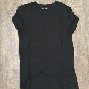 ZARA Basic Black short sleeve top